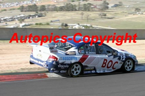 207717 - A. Jones / S. Wills - Ford Falcon BF - Bathurst 2007 - Photographer Jeremy Braithwaite