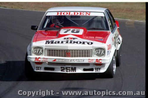 79043 - John Harvey Holden Torana A9X - Calder 1979 - Photographer Darren House