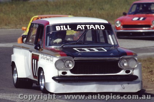 82055 - Bill Attard Fiat 1500- Oran Park 1982 - Photographer   Lance J Ruting