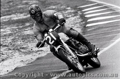 70307 - Bill Horsman / Iian Ardill / David Clarke Yamaha R5-350 - 303 laps completed  - Castrol Six Hour - Amaroo 18th October 1970 - Photographer Lance J Ruting