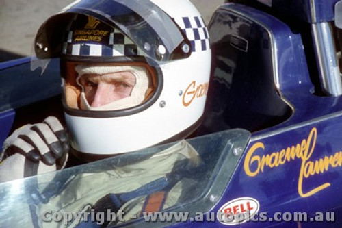 74645 - Graeme Lawrence Lola T332 - Amaroo 18th August 1974  - Photographer Jeff Nield
