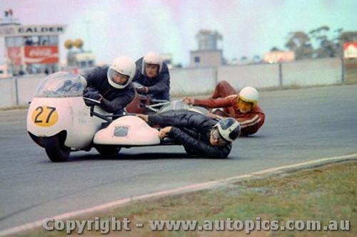 72312 - B. Hamilton & C. Eddy  650 Triumph - Calder 1972 - Photographer Peter D Abbs