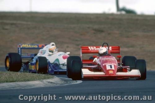 92508 - Mark Skaife Formula Brabham  Holden Oran Pak 1992 - Photographer Ray Simpson