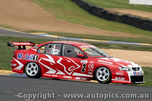 203703 - Mark Skaife - Holden Commodore  - Bathurst - 2003 - Photographer Craig Clifford