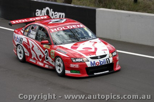 203712 - J. Richards / T. Longhurst - Holden Commodore  VY- Bathurst  2003 - Photographer Jeremy Braithwaite