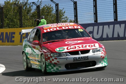 203722 - P. Dumbrell / T. Mezera - Holden Commodore VX - Bathurst  2003 - Photographer Jeremy Braithwaite