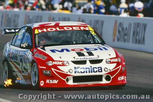 99718 - Mark Skaife / Paul Morris - Holden VT Commodore - 3rd Outright Bathurst FAI 1000 1999 - Photographer Craig Clifford