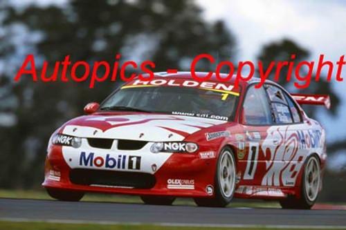 201719 - Mark Skaife / Tony Longhurst - Holden VX Commodore - 1st Outright Bathurst 2001 - Photographer Craig Clifford