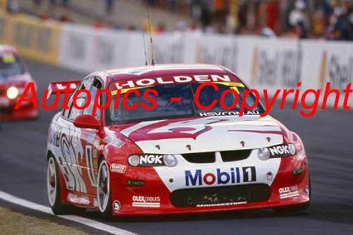 202701 - Mark Skaife / Jim Richards - Holden VX Commodore - 1st Outright Bathurst 2002 - Photographer Craig Clifford