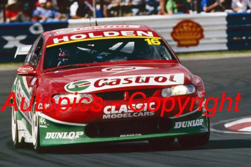 202702 - Russell Ingall / Steven Richards - Holden VX Commodore - 2nd Outright Bathurst 2002 - Photographer Craig Clifford