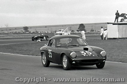 64412 -  D. Leighton Lotus Elite - Calder 5th May 1964 - Photographer  Peter D Abbs