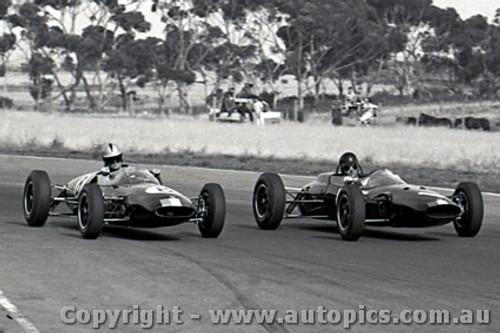 64539 - Leo Geoghegan Lotus 27 / Ian  Pete  Geoghegan Lotus 22 - Calder 5th May 1964 - Photographer Richard Austin