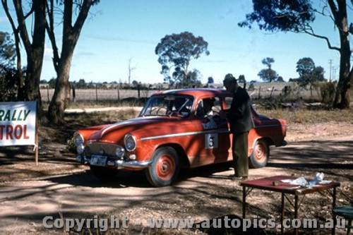 65917 - Jack Murray  Simca  BP Rally Mid 60 s - Photographer Harry Cape.