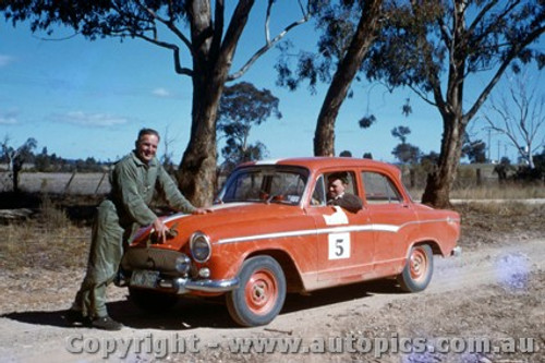 65918 - Jack Murray  Simca  BP Rally Mid 60 s - Photographer Harry Cape.