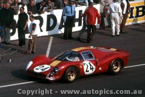 67301 - W. Mairese / J. Blatan - Ferrari 330 P4 - Le Mans 24 Hour 1967 - Photographer Adrien Schagen