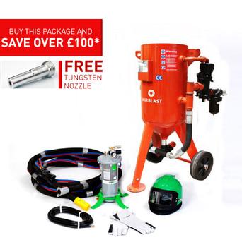 50ltr Redline Contractor Blast Pot Kit