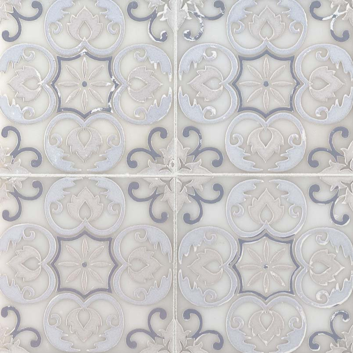 Tatiana Encaustic Marble Tile Collection