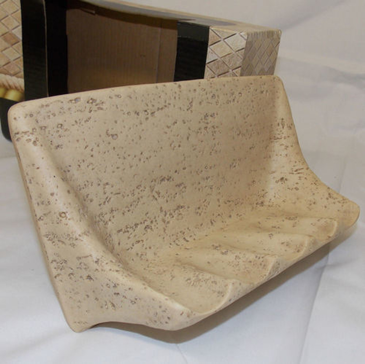Travertine Soap Dishes