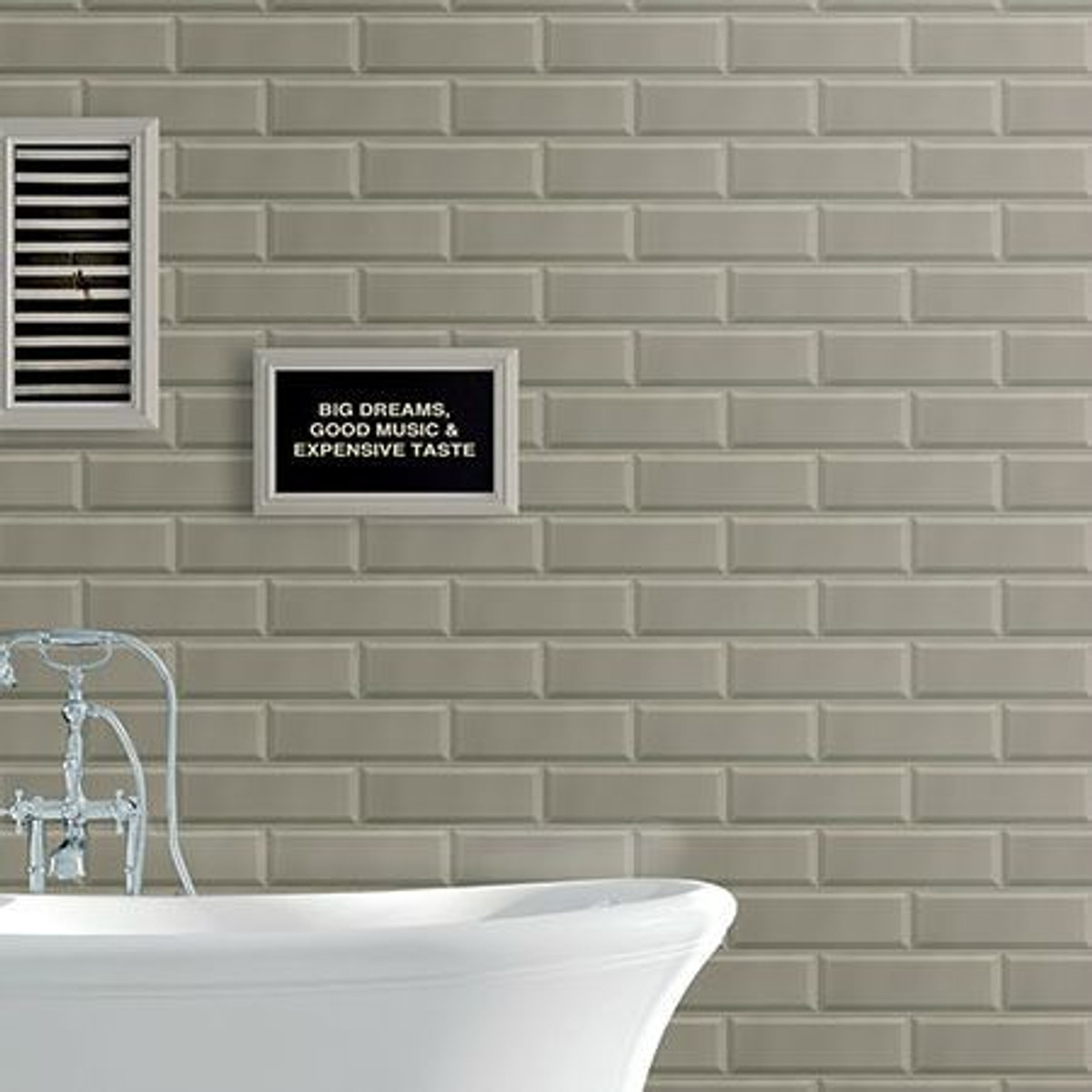 Obliqued Ceramic Wall Collection