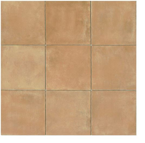 Terra Cotta 14x14 Gloss Finish Cotto Field Tile Cerdena ( Beige )
