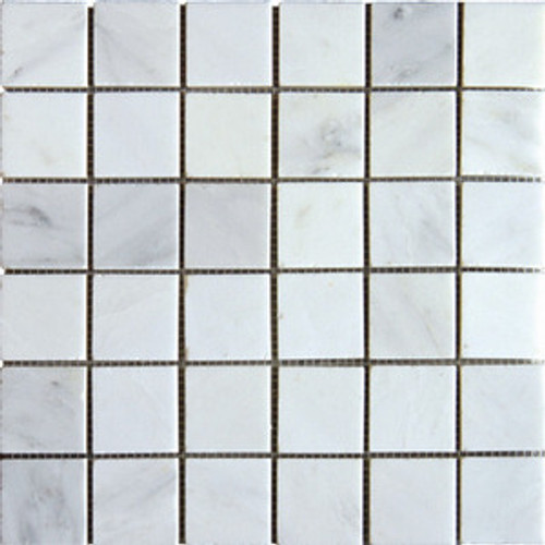 Ocean White 2x2 Honed or Polished Mosaic