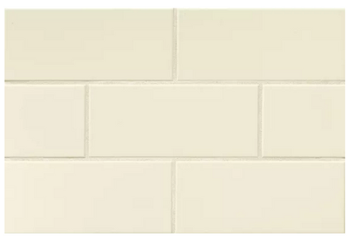 "Color Collection: Biscuit Gloss/Matte 4""x10"" Subway Tile"