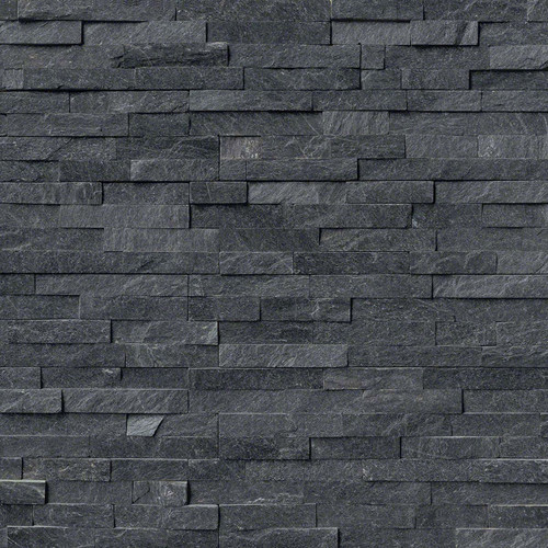 Antracita Dark 6x24 Ledgerstone Panels