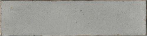"""Manzanita Gloss Tender Gray Crackled 3""""x12"""""""