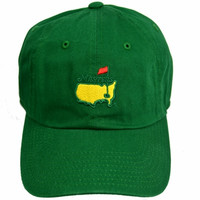 Masters Green Caddy Hat