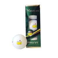 2017 Masters Golfballs - 3 Pack - Pro V1