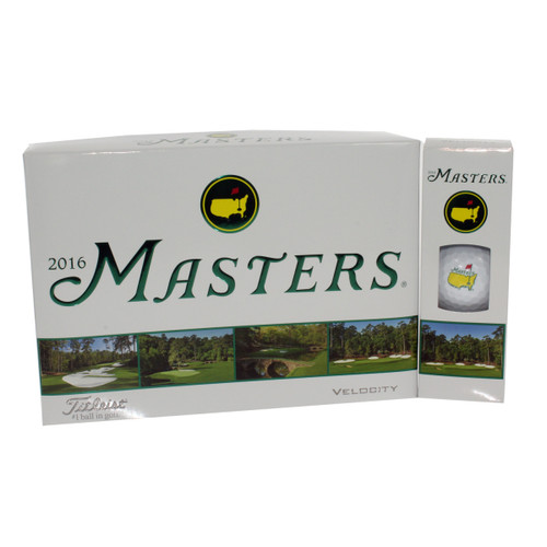 2016 Masters Velocity Dozen Golf Balls