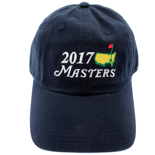 2018 Masters Big Logo Hat - Navy