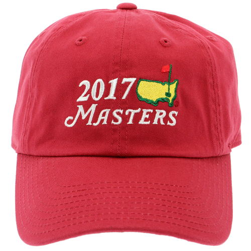 2018 Dated Masters Red Caddy Hat
