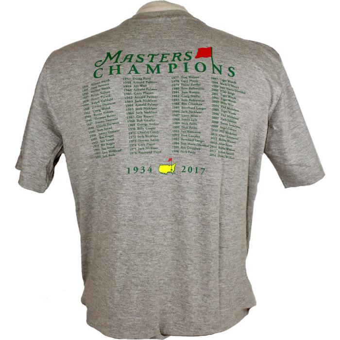 2018 Masters Champions T-Shirt - Grey