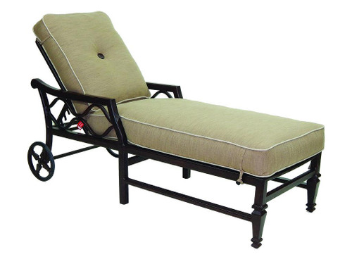 Villa Bianca Adjustable Chaise Lounge Chair