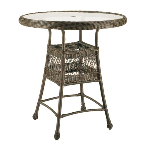 Universal 36in Round Bar Table
