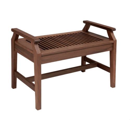Opal 2.5ft Bench with Arms