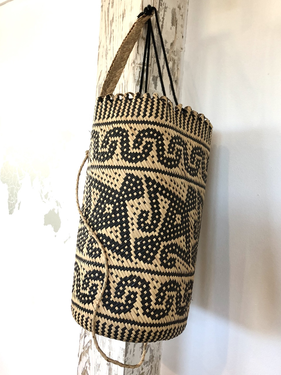 Tribal Rattan Backpack Kalimantan Borneo Ethnic Origin Company