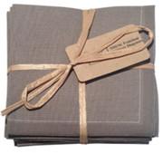 Grey Cotton Folded Napkin