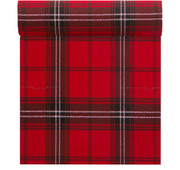 Tartan Cotton Printed Dinner Napkin Wholesale (10 Rolls)