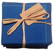 Royal Blue Cotton Folded Napkin Wholesale (20 Units)