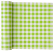 Pistachio Vichy Cotton Printed Luncheon Napkin Wholesale