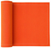 Orange Cotton Dinner Napkin Wholesale (10 Rolls)
