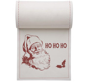 Ho Ho Ho Linen Printed Cocktail Napkin