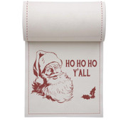 Ho Ho Ho Y'All Linen Printed Cocktail Napkin Wholesale (10 Rolls)