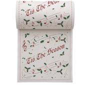 Tis The Season Linen Printed Cocktail Napkin Wholesale