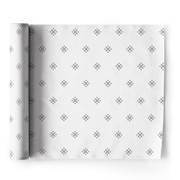Silver Stars  Linen Printed Luncheon Napkin Wholesale (10 Rolls)