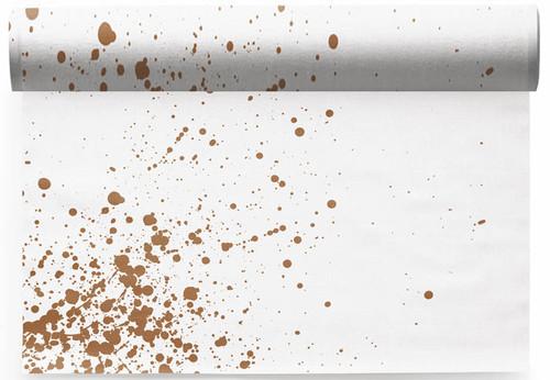 Golden Splash  Linen Printed Placemat