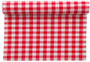 Red Vichy Cotton Printed Placemat-25 Units per roll, 10 rolls per case