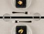 Natural Linen Premium Dinner Napkin - 12 Units Per Roll